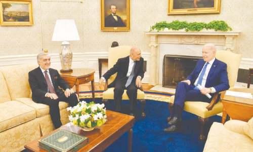 Biden meets Afghan leaders, assures Kabul of 'sustained help'