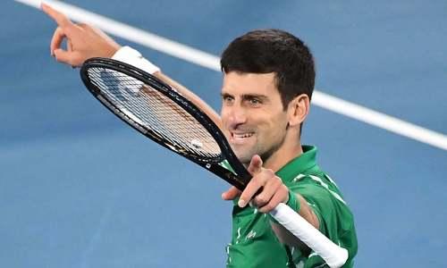 Top gun Djokovic chases another milestone at Wimbledon