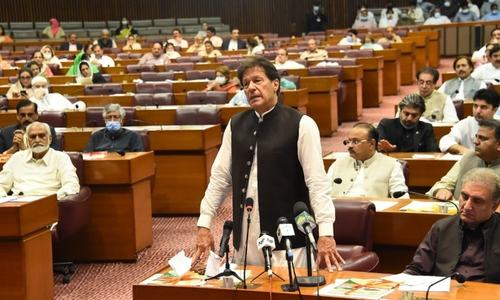 Red Zone Files: PM Imran's emphatic speech in NA spoke more than what was actually said