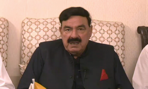 Pakistan's politics will change after military's security briefing to lawmakers: Sheikh Rashid