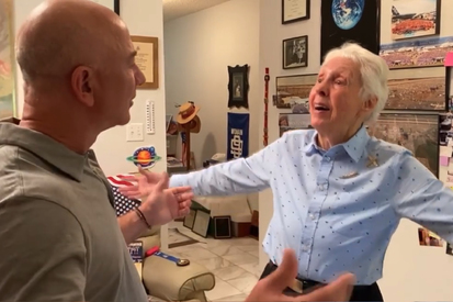 82-year-old aerospace pioneer to go to space with Jeff Bezos 60 years after her training