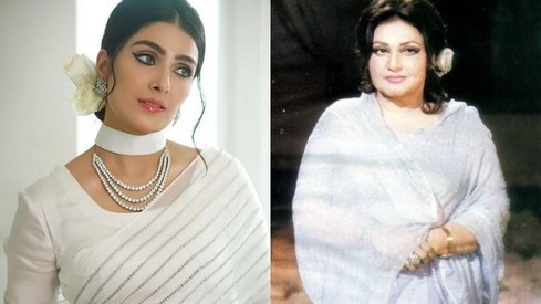 Ayeza Khan pays tribute to her 'forever idol' Madam Noor Jehan with a stunning photoshoot