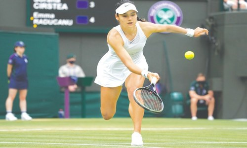 Teenagers steal limelight at Wimbledon