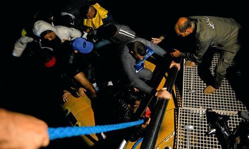 43 migrants drown off Tunisia; 84 rescued