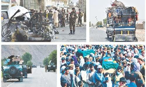 Taliban seize control of key Kandahar district