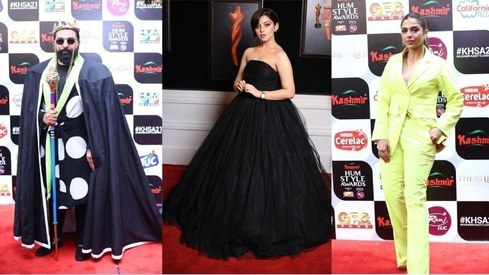 The Hum Style Awards red carpet was a lesson on what NOT to wear