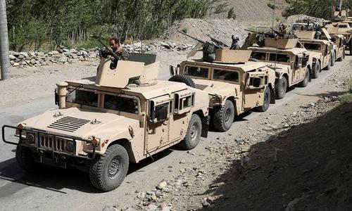 Over 1,000 Afghan troops flee into Tajikistan as Taliban advance in northern Afghanistan