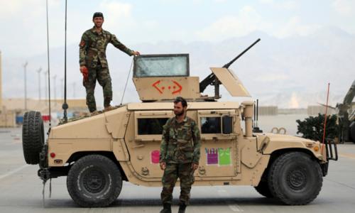 Vacated by Americans, Kabul's Bagram Air Base bustles again as Afghans move in