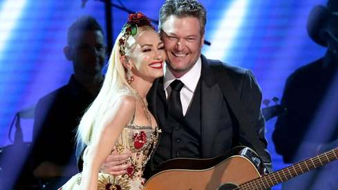 Gwen Stefani and Blake Shelton have tied the knot