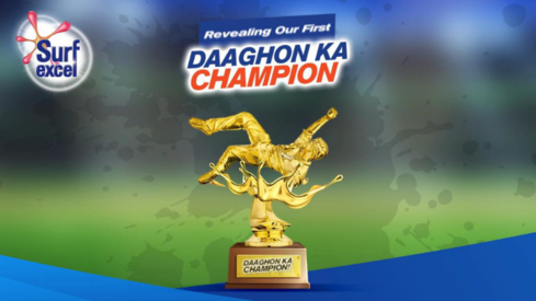 Surf Excel Daaghon ka Champion trophy brings out some of the best dives on Pakistani media