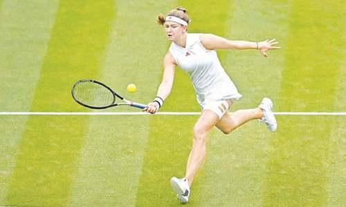 Former champion Kerber, first-timers into Wimbledon semi-finals