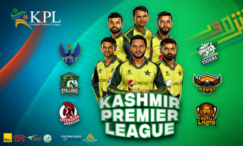Kashmir Premier League all set to kick off from August 6