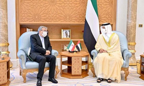 UAE deputy PM and Iran envoy discuss 'cooperation' in Abu Dhabi