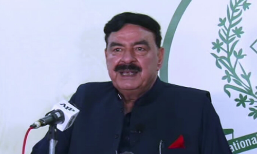 Interior ministry to register all foreigners in country: Sheikh Rashid