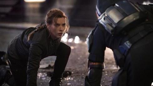 Black Widow spins new Covid-era box office record