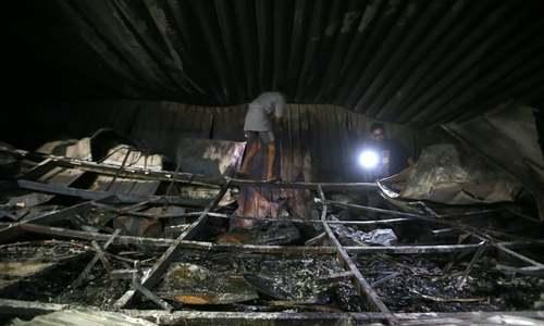 35 die in fire at Iraqi Covid ward