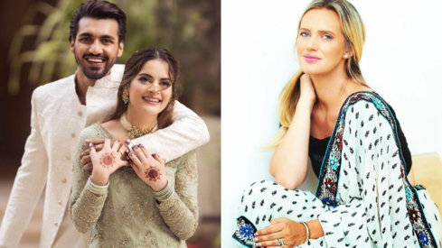 Shaniera Akram gives Minal Khan a lesson on road safety we should all remember this monsoon season