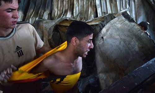 عراق: کورونا وارڈ میں آتشزدگی سے ہلاکتوں کی تعداد 64 ہوگئی