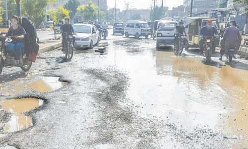 No rainwater accumulated anywhere in Karachi, says adviser