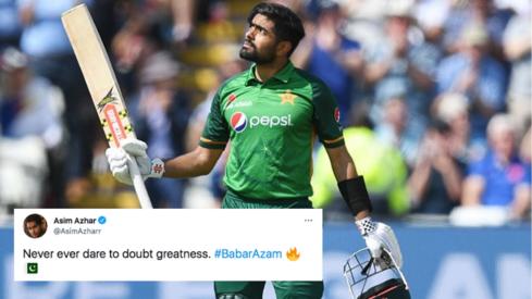 Pakistani Twitter celebrates as Babar Azam becomes fastest cricketer to reach 14 ODI centuries