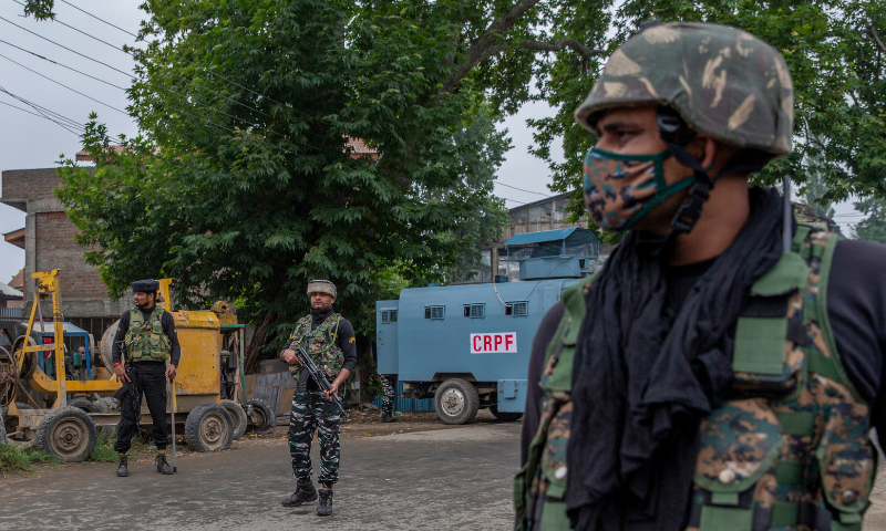 Protests erupt as Indian troops kill 3 Kashmiris in IOK shootout