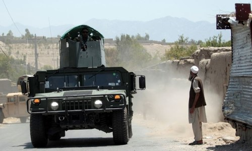 Editorial: The battle between Kabul and the Taliban is practically being waged at Pakistan's doorstep