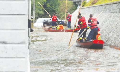 Europe reels from worst floods in years as 120 die