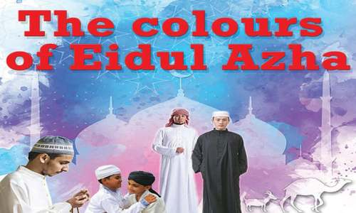The colours of Eidul Azha