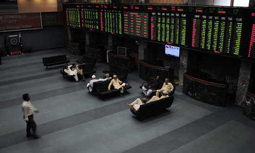 Stocks add 206 points in cautious trade