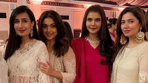 Take fashion inspiration from Mahira Khan and Mansha Pasha for the next wedding you attend