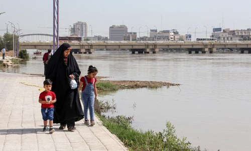 One shot dead in Iran water shortage protests