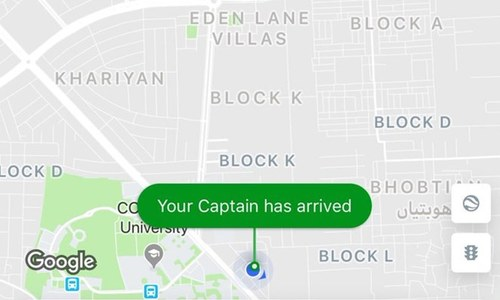 Rawalpindi court temporarily bars Careem from calling its drivers 'captains'