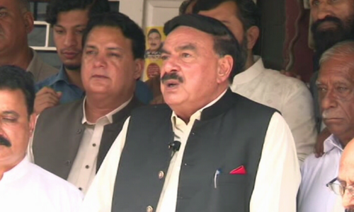 Indians, Afghans trying to distort facts of 'incident' involving envoy's daughter: Sheikh Rashid