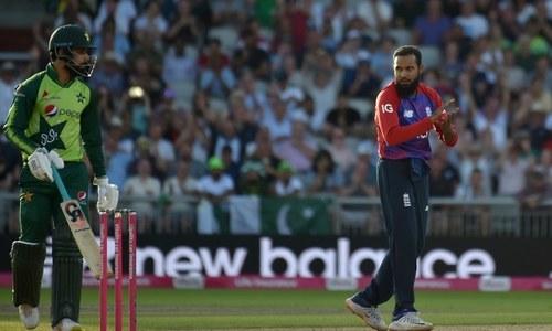 Adil Rashid stars as England edge T20 series against Pakistan