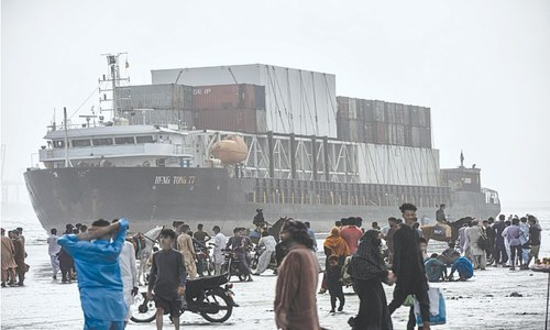 Salvage experts to decide fate of cargo ship beached at Seaview