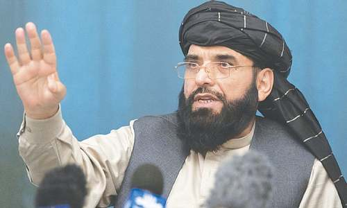 No peace till Ghani's removal from power: Taliban spokesman