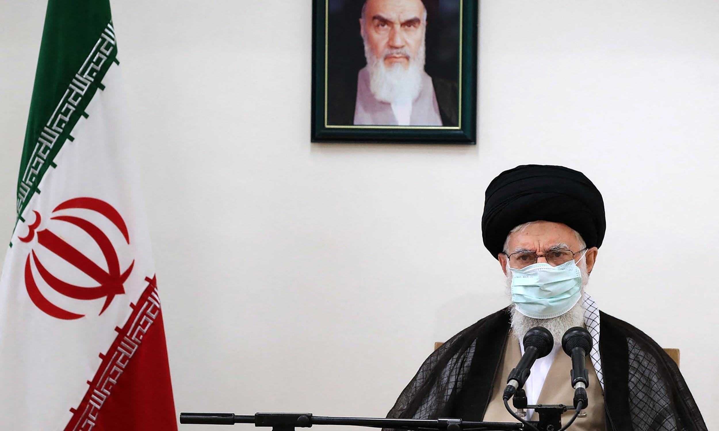 Khamenei urges water protesters not to fall prey to 'enemy'