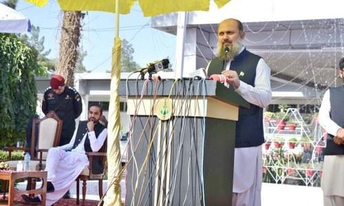 Alyani pledges equitable development in Balochistan