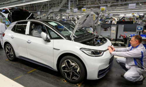 Electric car sales charge ahead in Europe