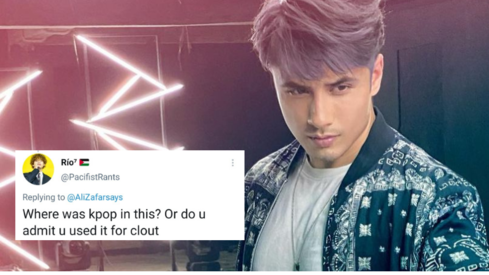 Twitter can't figure out what's so K-pop about Ali Zafar's new song