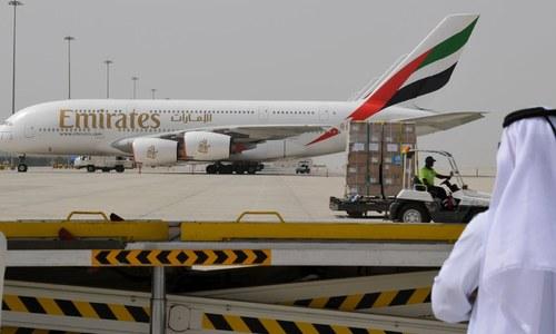 پاکستان سے امارات جانے والی پروازوں پر پابندی میں 28 جولائی تک توسیع
