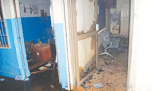 Hesco office ransacked, furniture torched over PMT blast, fire incident