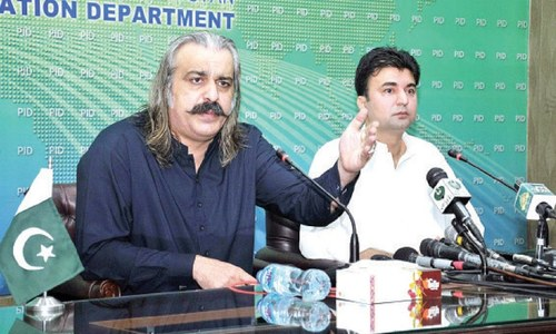 Full support given to AJK govt to conduct fair polls: Gandapur