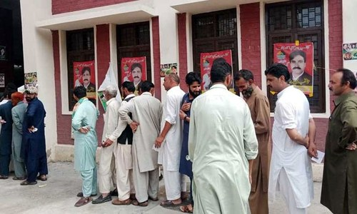 Polling for AJK Legislative Assembly seats underway after divisive election campaign