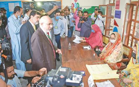 Polling concludes in AJK amid violence