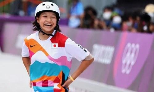 13 سالہ لڑکی اولمپک گولڈ میڈل جیتنے میں کامیاب