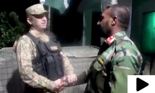 5 افسران سمیت 46 افغان فوجیوں کو افغان حکام کے حوالے کردیا گیا، آئی اسی پی آر