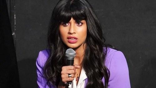 British actor Jameela Jamil urges men in Pakistan to speak about the Noor Mukaddam case