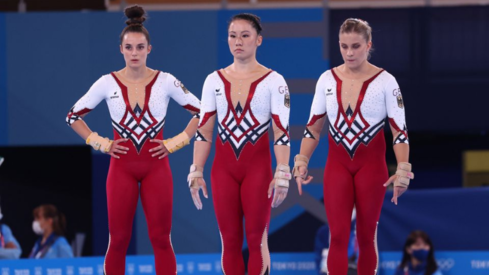 German gymnasts fight against sexualisation by wearing full-body suits at Tokyo Olympics