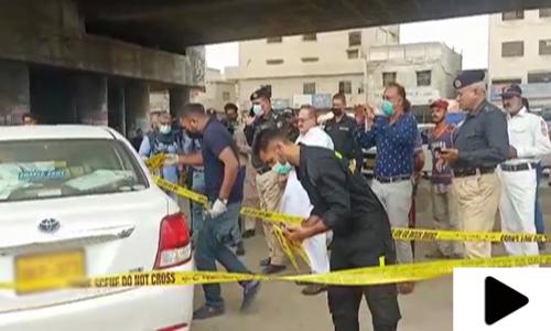 کراچی میں فائرنگ سے غیر ملکی شخص زخمی
